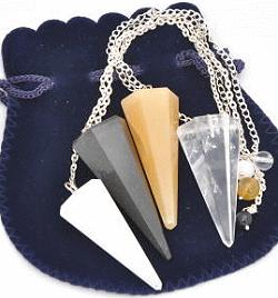 Dowsing Pendulums rocks and crystals wholesale