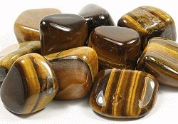 TIGERS EYE GOLD TUMBLESTONES