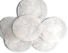 Capiz shell discs