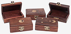 Inlaid Box shallow x5